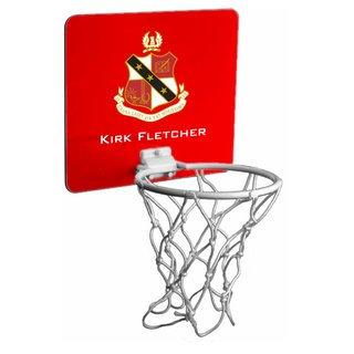Alpha Sigma Phi Mini Basketball Hoop