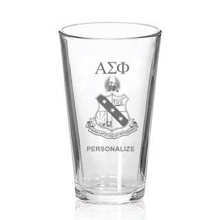Alpha Sigma Phi Mixing Glass
