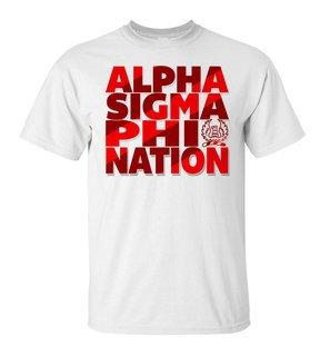 Alpha Sigma Phi Nation T-Shirt