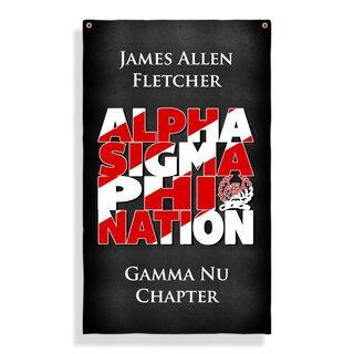 Alpha Sigma Phi Nations Giant Flag
