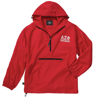 Alpha Sigma Phi Pack-N-Go Pullover