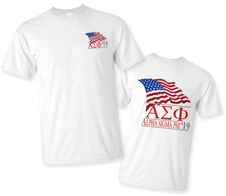 Alpha Sigma Phi Patriot Limited Edition Tee- $15!