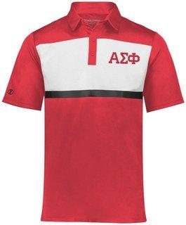 Alpha Sigma Phi Prism Bold Polo