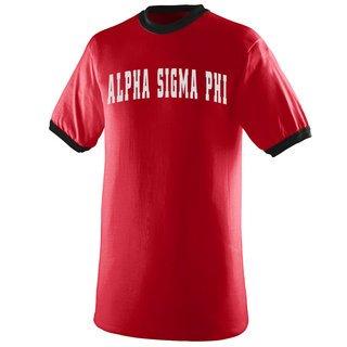 Alpha Sigma Phi Ringer T-shirt