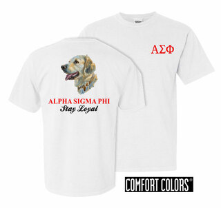Alpha Sigma Phi Stay Loyal Comfort Colors T-Shirt