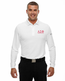 Alpha Sigma Phi Under Armour�  Men's Performance Long Sleeve Fraternity Polo