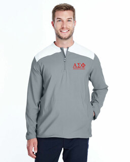 Alpha Sigma Phi Under Armour�  Men's Triumph Cage Quarter-Zip Pullover