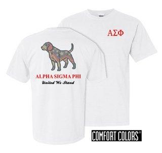 Alpha Sigma Phi United We Stand Comfort Colors T-Shirt