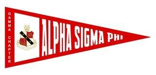 Alpha Sigma Phi Wall Pennants