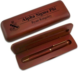 Alpha Sigma Phi Wooden Pen Set