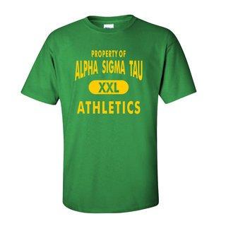 Alpha Sigma Tau Athletics T-Shirts