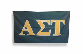 Alpha Sigma Tau Big Greek Letter Flag