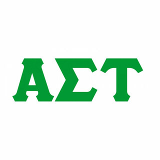 Alpha Sigma Tau Big Greek Letter Window Sticker Decal
