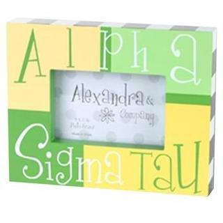 Alpha Sigma Tau Block Picture Frames