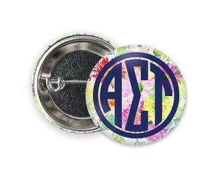 Alpha Sigma Tau Bouquet Button
