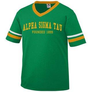 Alpha Sigma Tau Boyfriend Style Founders Jersey