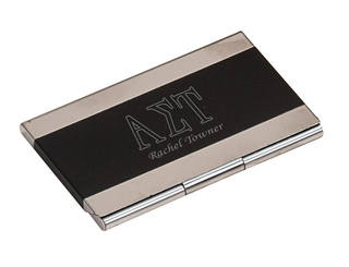 Alpha Sigma Tau Business Card Holder