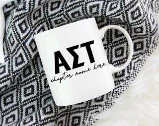 Alpha Sigma Tau Chapter Mug