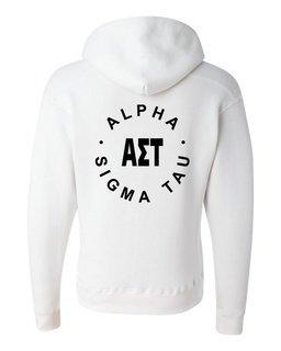 Alpha Sigma Tau Circle Hoodie