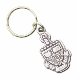 Alpha Sigma Tau Crest - Shield Keyring - CLOSEOUT