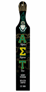 Alpha Sigma Tau Custom Full Color Paddle