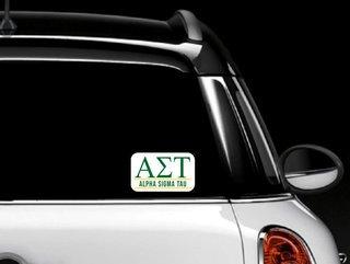 Alpha Sigma Tau Custom Sticker - Personalized