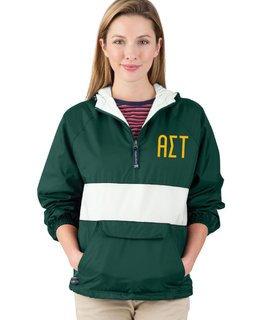 Alpha Sigma Tau Fabulous Font Pullover Anorak