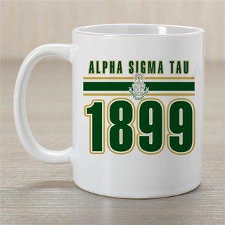 Alpha Sigma Tau Established Year Coffee Mug