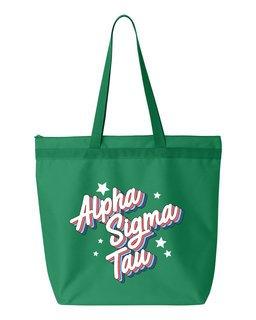 Alpha Sigma Tau Flashback Tote bag