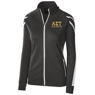 Alpha Sigma Tau Flux Track Jacket