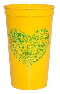 Alpha Sigma Tau Giant Plastic Cup