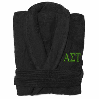 Alpha Sigma Tau Greek Letter Bathrobe