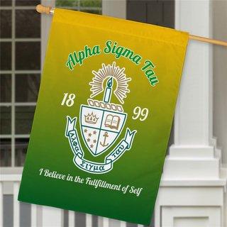 Alpha Sigma Tau House Flag