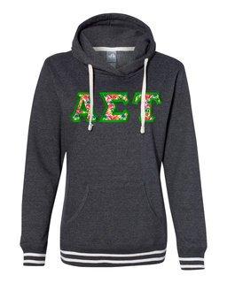 Alpha Sigma Tau J. America Relay Hooded Sweatshirt