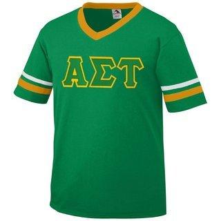 Alpha Sigma Tau Jersey With Custom Sleeves