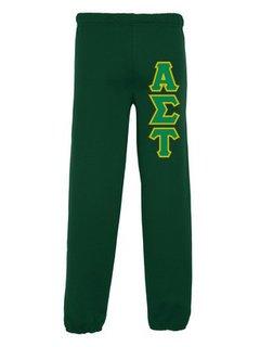 Alpha Sigma Tau Lettered Sweatpants