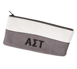 Alpha Sigma Tau Letters Cosmetic Bag