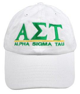 Alpha Sigma Tau World Famous Line Hat