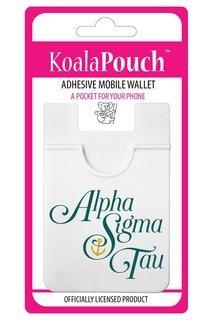 Alpha Sigma Tau Logo Koala Pouch