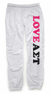 Alpha Sigma Tau Love Sweatpants