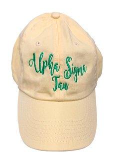 Alpha Sigma Tau Magnolia Skies Ball Cap