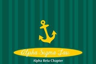 Alpha Sigma Tau Mascot Tablecloth