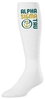 Alpha Sigma Tau Mascot Tube Socks