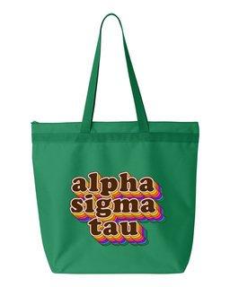 Alpha Sigma Tau Maya Tote Bag