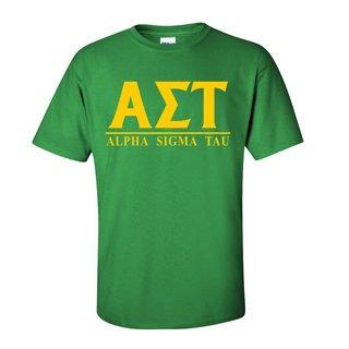 Alpha Sigma Tau Message T-Shirts