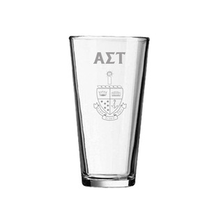Alpha Sigma Tau Mixing Glass