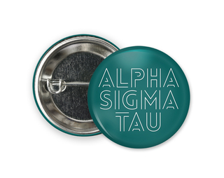 Alpha Sigma Tau Modera Button