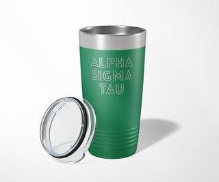 Alpha Sigma Tau Modera Tumbler