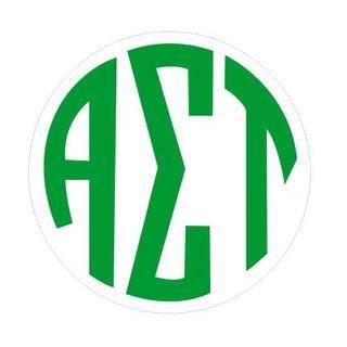 Alpha Sigma Tau Monogram Decal