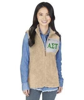 Alpha Sigma Tau Newport Fleece Vest